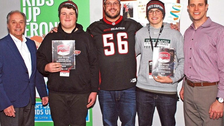 Two Youth score Grey Cup touchdowns!